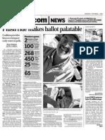 Plush ridemakes ballot palatable