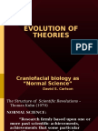 Evolution of Theories of Growth