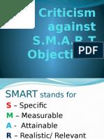 Critiism Against SMART
