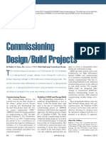 Commissioning Design-Build Projects
