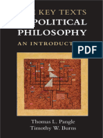 Thomas l Pangle the Key Texts of Political Philosophy an Introduction (1)