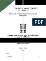 Estudio Para El Desarrollo Del Cultivo Del Asaí en El Perú