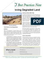 Bpn 1 Improving Degraded Land