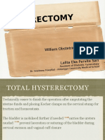 Total Hysterectomy Ed