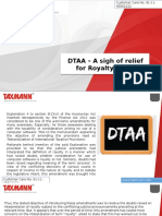 DTAA – a Sigh of Relief for Royalty Cases