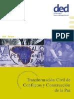 Transformación Civil de Conflictos y Construcción de La Paz