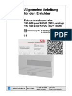 Honeywell Einbruchmelderzentrale 100 Ab8 Plus