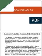 Chapter 6 Prob Stat (Random Variables)