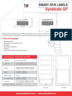 Syndicate General Purpose RFID Label