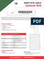 Syndicate RFID 9640