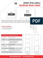 Syndicate RFID Book Label