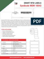 Syndicate RFID Mount on Metal 10043