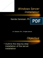 1-Windows Server Installation