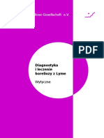 Diagnostyka i Leczenie Boreliozy z Lyme – Wytyczne Niemieckiego Towarzystwa Boreliozy