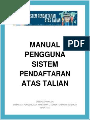 03 Panduan Pendaftaran Tingkatan Satu Online Sam Jais 2017 New