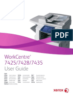 Photocopy Xerox 74XX User Guide