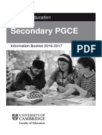 Cambridge PGCE Information Booklet (1)