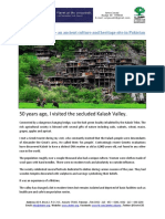 Kalash - Ancient Culture and Heritage Site