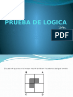 PRUEBA de LOGICA #1 - Jorge Pacay Ramos
