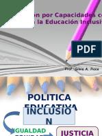 La Planificacion Por Capacidades. Córdoba 2016