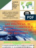 Las Políticas Públicas Del Cambio Climático