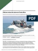 Ubican Rutas de Zetas en Costa Rica