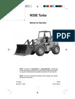 Manual Do Operador W20E Freio PNEUMÁTICO