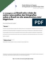 A imagem do Brasil sob a visão do outro