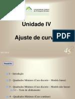 Ajuste de Curvas - Modelo Linear