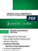 Service Level Agreements Presentation