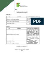 Ifce 2014 -Retificação Anexo II