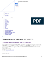 How to Interface 7SEG with PIC16F877A.pdf