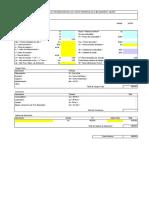 Formato Analisis de Costo Horario de Maquinaria