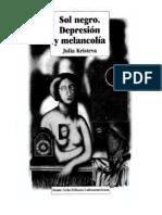 Sol negro. Depresión y melancolía
