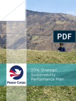 Peace Corps 2016 Strategic Sustainability Performance Plan