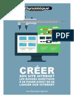 Creer Son Site Internet