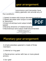 17094 Planetary Gearbox