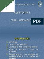 Tema I Introducción - Auditoria I Ok