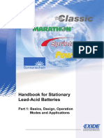 Handbook for Stationary Lead-Acid Batteries, Part 1, Edition 3