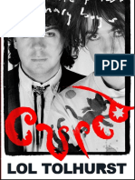 Cured by Lol Tolhurst - Prologue