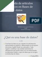 Búsqueda de Artículos Científicos en Bases de Datos