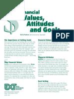 r1 - financial values attitudes and goals