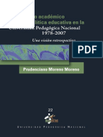 Proyecto Academico y Politica Educativa