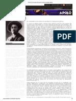 Adolphe Appia -El Concepto de Espacio Escénico