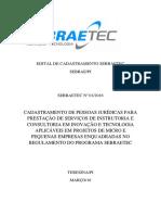Edital Sebraetec Pi - 2016.1