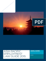 Asia Pacific Employment Law Guide 2015 Teaser