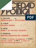 Revista Sociedad y política