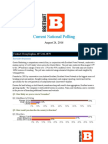 Breitbart National Poll Aug 26 Release
