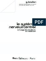 Braillon Georges - Le Systeme Nerveux Central