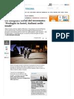 Gli Indignati Social Del Terremoto_ Profughi in Hotel, Italiani Nelle Tende - Pagina Nazionale - Il Tirreno